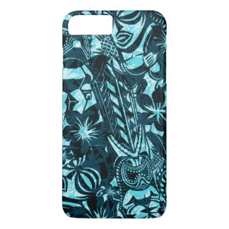 Primitif hawaïen de commerçant de Tiki Coque iPhone 7 Plus