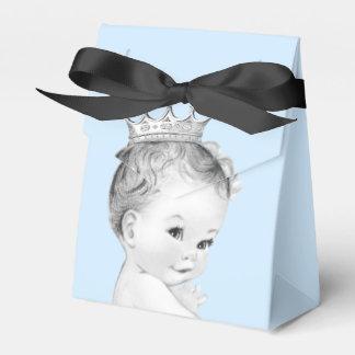 Prince baby shower de bleus layette boites de faveur