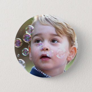 Prince George de Cambridge Badge Rond 5 Cm
