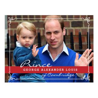 Prince George et prince William Carte Postale