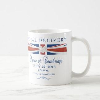 Prince royal de tasse de souvenir de Cambridge