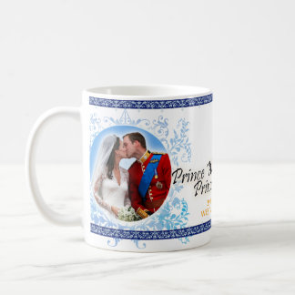 Prince William et tasse royale de mariage de Kate