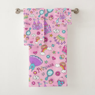 Princesse Bathroom Towel Set rose
