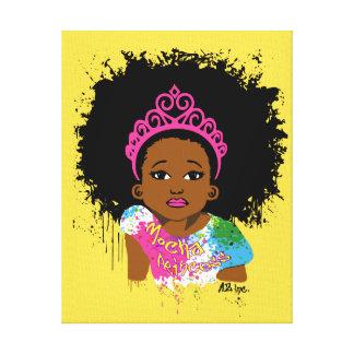 Princesse Canvas Art de moka