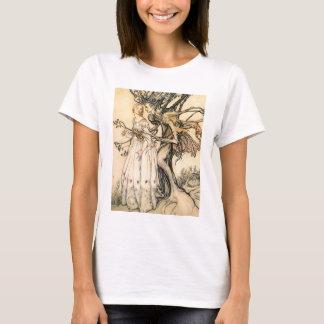 Princesse de conte de fées et T-shirt d'Elf