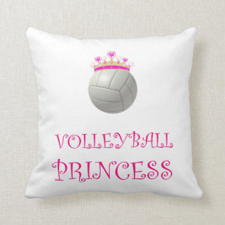 Princesse de volleyball coussin