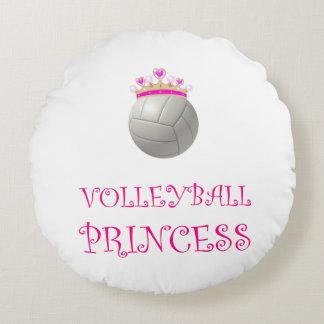 Princesse de volleyball coussins ronds