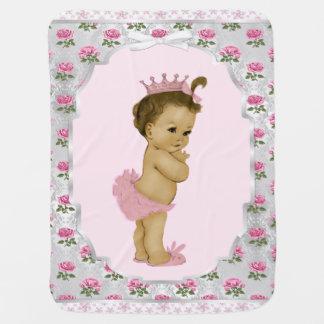 Princesse douce Baby de rose rose Couvertures De Bébé