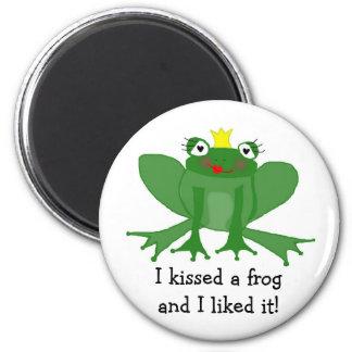 Princesse Frog Magnet