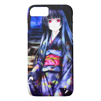 Princesse japonaise sexy d'Anime Coque iPhone 7