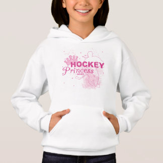 Princesse rose d'hockey de filles