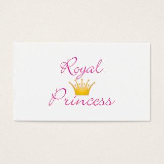 Princesse royale cartes de visite