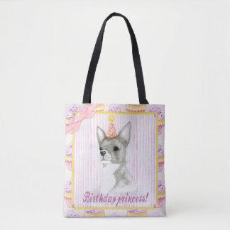Princesse sac fourre-tout d'anniversaire