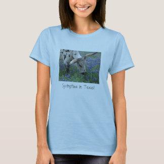 Printemps dans le T-shirt du Texas