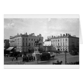 PRIVAT LIVEMONT BRUXELLE PLACE ROYALE 1900 CARTE