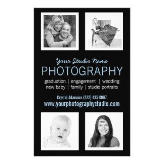 Pro aide d'affaires de photographe prospectus 14 cm x 21,6 cm