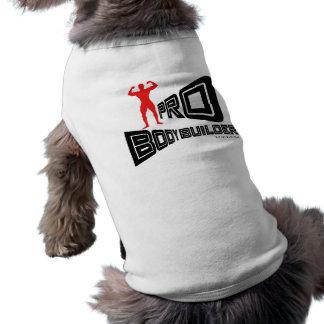 Pro habillement de chien de culturiste t-shirt pour chien