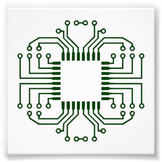 Processeur électrique de carte photographie