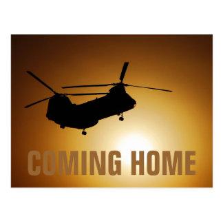 Prochaine carte postale à la maison militaire