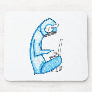 Producteur mobile de musique - bleu tapis de souris