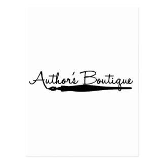 Produits de papier de boutique d'auteurs carte postale
