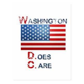 Produits de Washington D.Care Carte Postale