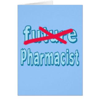 Produits d'obtention du diplôme de pharmacien carte de vœux