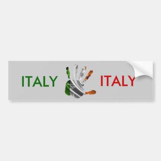 PRODUITS GENTILS DE DRAPEAU DE MAIN DE L ITALIE