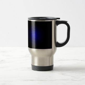 Produits urbains modernes d'art de drame bleu mug de voyage