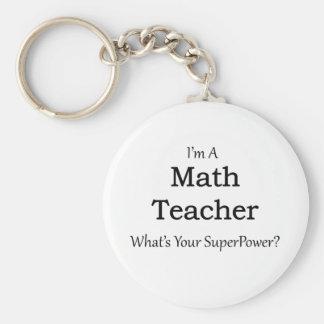 Professeur de maths porte-clés