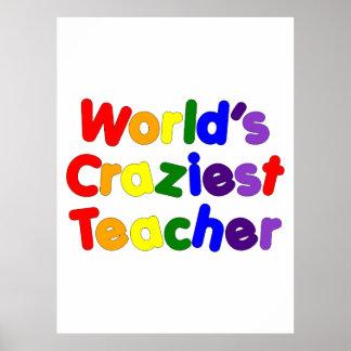 Professeurs humoristiques drôles : Le professeur l Poster