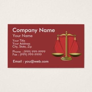 Profession avocat cartes de visite