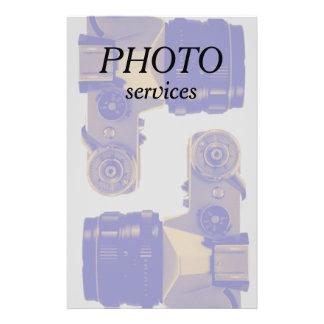 Profession de graphique de photographie et d'image prospectus 14 cm x 21,6 cm