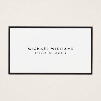 Professioneel Zwart-wit Visitekaartje Visitekaartjes