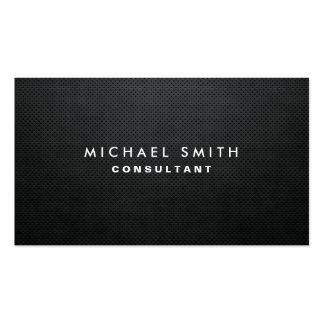 Professionele Elegante Moderne Zwarte Duidelijke Visitekaartjes