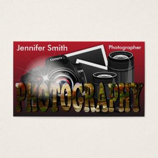 Professionele Fotograaf Visitekaartjes