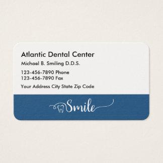 Professionnel Businesscards de bureau de dentiste Cartes De Visite