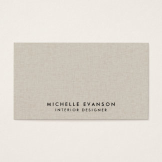 Cartes de visites minimalistes à personnaliser.