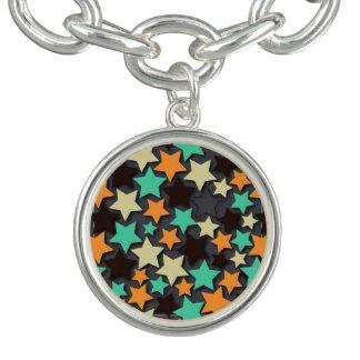 Profil sous convention astérisque coloré avec bracelet avec breloques