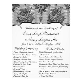Programma van het Huwelijk van de Douane van het K Fullcolor Folder