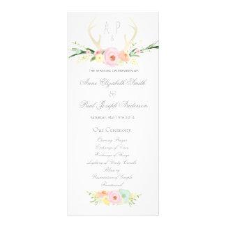 Programme floral de mariage d'andouillers