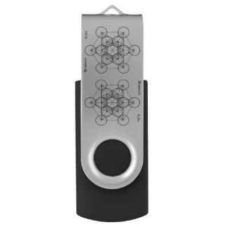 Projet 8117 de Metatrons PinDrive librement Clé USB 3.0 Swivel