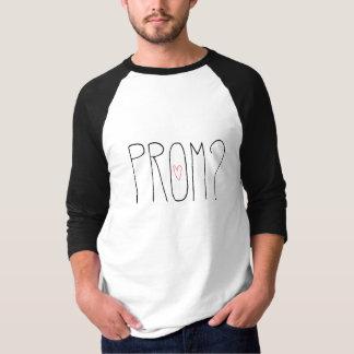 PROM ? 3/4 chemise de douille T-shirt
