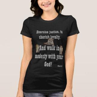 Promenade avec votre Dieu ! T-shirt de base