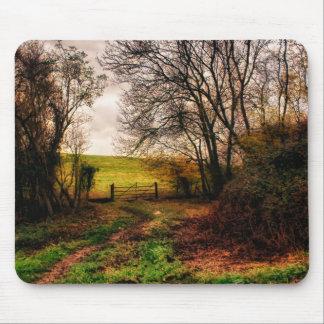 Promenade de campagne tapis de souris