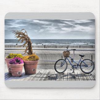 Promenade HDR de rivage du Jersey Tapis De Souris