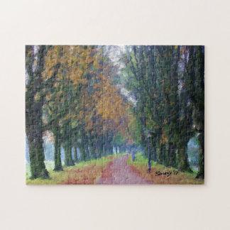 Promenade paisible puzzle