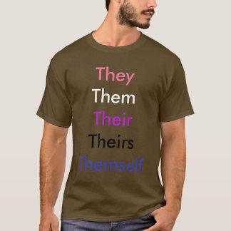 Pronom fait sur commande Genderfluid T-shirt