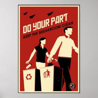 Propagande de bureau : Breakroom
