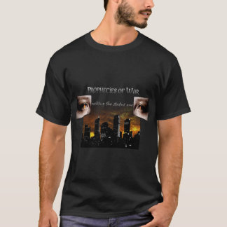 Prophéties de T-shirt de noir de guerre
